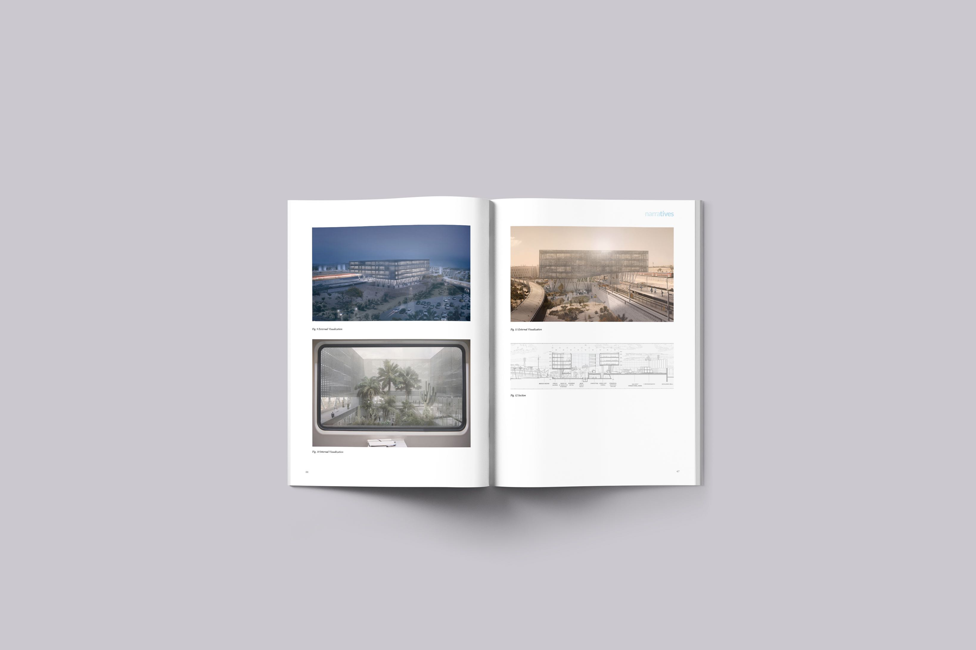 narratives issue 01 - preview, inside pages